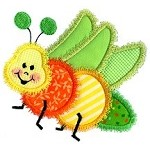 Lil Bug 2 Applique Design